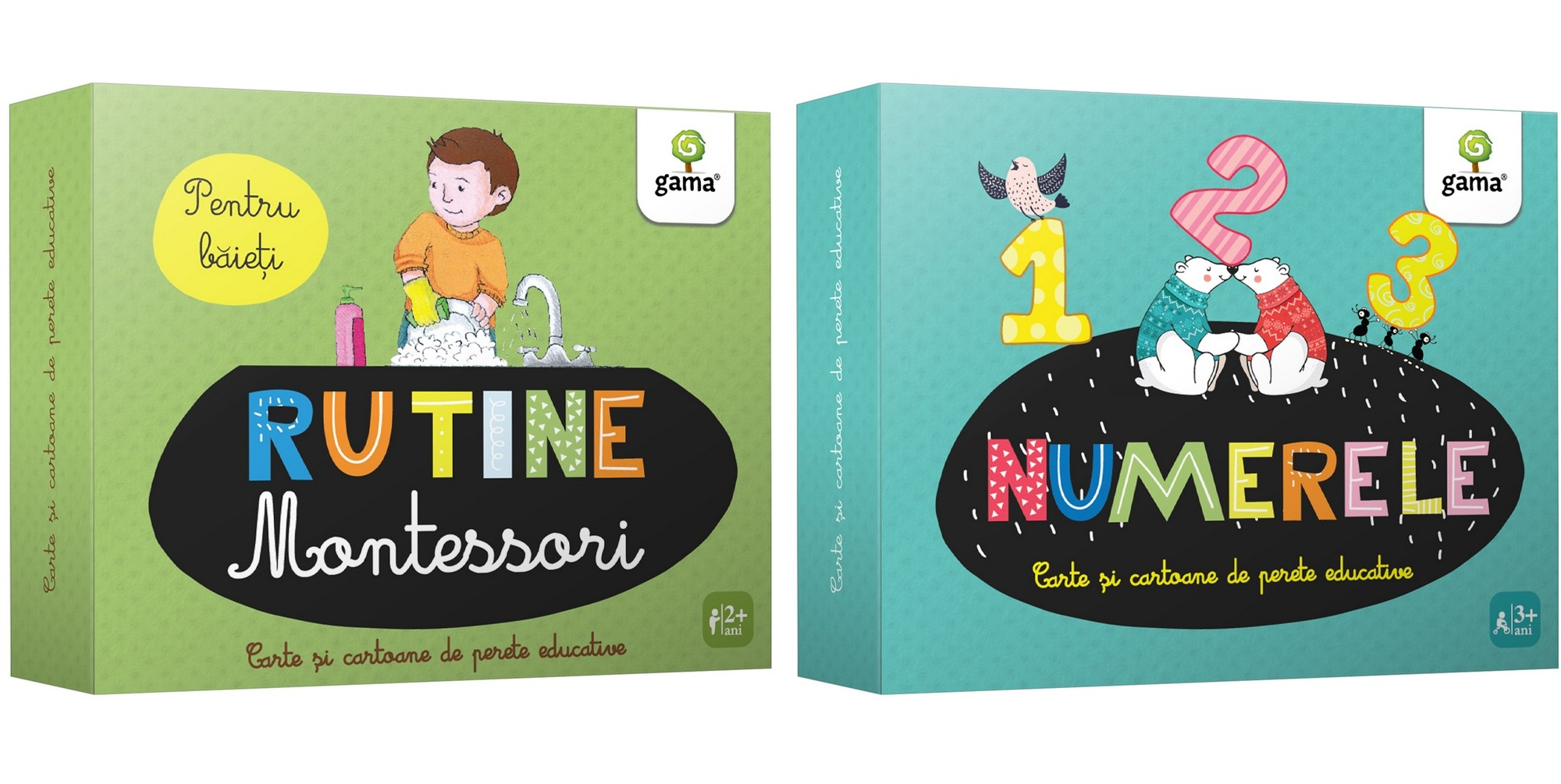 Cartoane de perete educative
