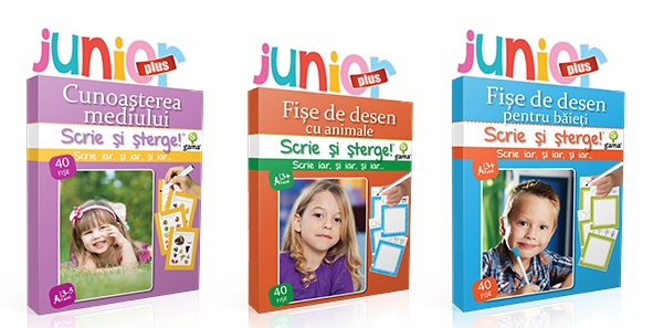 Scrie și șterge! Junior Plus