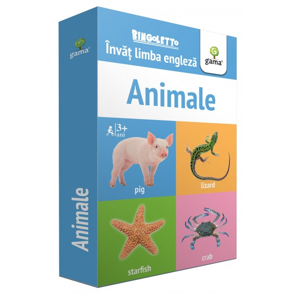 Animale - Bingoletto - Editura Gama