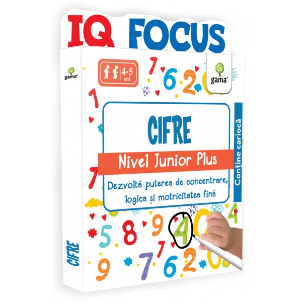 Editura Gama - Cifre • nivel Junior Plus