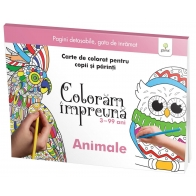 Animale - Coloram Impreuna - Editura Gama