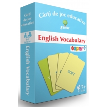 English Vocabulary, pachete de carti de joc educative, editura gama