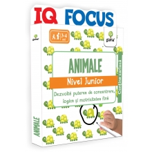 Editura Gama - Animale • nivel Junior - Editura Gama