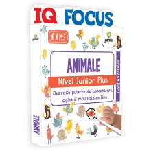 Editura Gama - Animale • nivel Junior Plus - Editura Gama