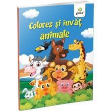 Colorez si invat animale - Editura Gama